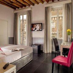 Hotel Condotti 3* Стандартный номер с двуспальной кроватью фото 22