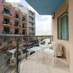 Апартаменты Charming Apartment in Qawra балкон