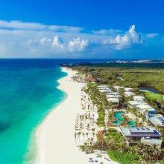 Отель Andaz Mayakoba All Inclusive Package - a Concept by Hyatt пляж