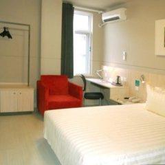 Отель Jinjiang Inn Tianjin Heping Anshandao комната для гостей