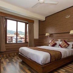 Отель Tulsi Непал, Покхара - отзывы, цены и фото номеров - забронировать отель Tulsi онлайн комната для гостей фото 3