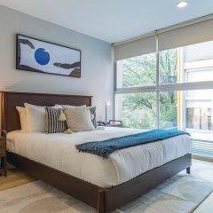 Апартаменты Bright 2BR Condesa Apartment With Balcony Мехико комната для гостей фото 3