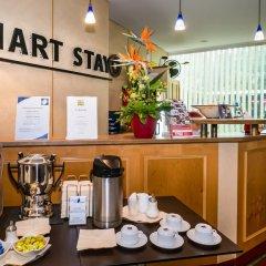 Отель Smart Stay Hotel Schweiz Германия, Мюнхен - - забронировать отель Smart Stay Hotel Schweiz, цены и фото номеров интерьер отеля