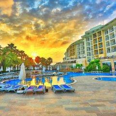 Отель Lyra Resort - All Inclusive Сиде бассейн
