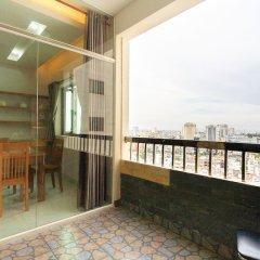 Апартаменты My Duc Deluxe Apartment балкон
