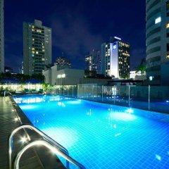 Отель Well Hotel Bangkok Таиланд, Бангкок - отзывы, цены и фото номеров - забронировать отель Well Hotel Bangkok онлайн бассейн фото 3