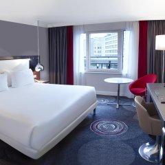 Отель Hilton Brussels Grand Place 4* Стандартный номер с разными типами кроватей