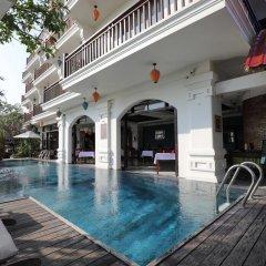 Отель Hoi An Odyssey Hotel Вьетнам, Хойан - 1 отзыв об отеле, цены и фото номеров - забронировать отель Hoi An Odyssey Hotel онлайн бассейн фото 2