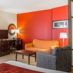Отель Comfort Suites East Broad at 270 США, Колумбус - отзывы, цены и фото номеров - забронировать отель Comfort Suites East Broad at 270 онлайн комната для гостей фото 4