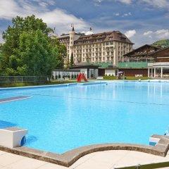 Отель Gstaad Palace Швейцария, Гштад - отзывы, цены и фото номеров - забронировать отель Gstaad Palace онлайн бассейн фото 3