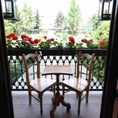 Hotel Diana Прага балкон