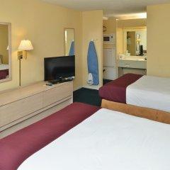 Отель Americas Best Value Inn-Meridian комната для гостей фото 5
