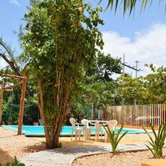 Отель Hostel Punta Sam Мексика, Плайя-Мухерес - отзывы, цены и фото номеров - забронировать отель Hostel Punta Sam онлайн бассейн фото 4
