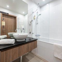 Отель P&O Apartments Oxygen Wronia 4 Польша, Варшава - отзывы, цены и фото номеров - забронировать отель P&O Apartments Oxygen Wronia 4 онлайн ванная фото 2