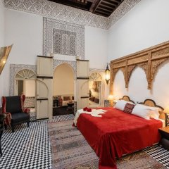 Отель Riad Farnatchi Марокко, Марракеш - отзывы, цены и фото номеров - забронировать отель Riad Farnatchi онлайн комната для гостей фото 4