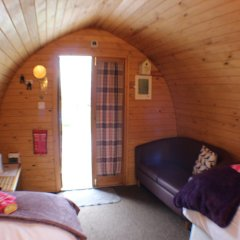 Отель The Little Hide - Grown Up Glamping комната для гостей фото 2