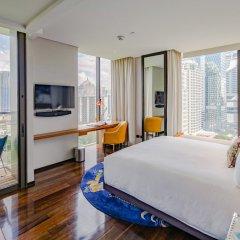 Отель Indigo Bangkok Wireless Road Бангкок комната для гостей фото 3