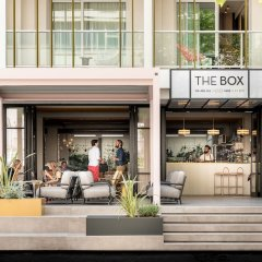 Отель The Box Riccione бассейн