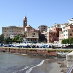 Отель Il Mare Sotto Al Cuscino Генуя пляж фото 2