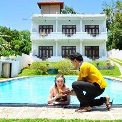 Отель Rockery Villa Шри-Ланка, Бентота - отзывы, цены и фото номеров - забронировать отель Rockery Villa онлайн бассейн фото 2