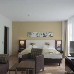 Отель Holiday Inn Munich-Unterhaching Германия, Унтерхахинг - 7 отзывов об отеле, цены и фото номеров - забронировать отель Holiday Inn Munich-Unterhaching онлайн комната для гостей фото 5