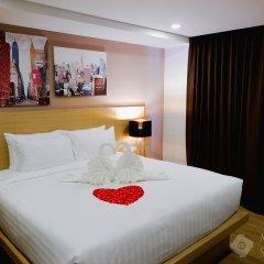New Square Patong Hotel комната для гостей