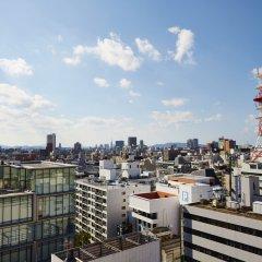 Отель Unizo Fukfouka Tenjin Фукуока балкон