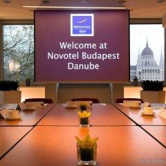 Отель Novotel Budapest Danube фитнесс-зал фото 3