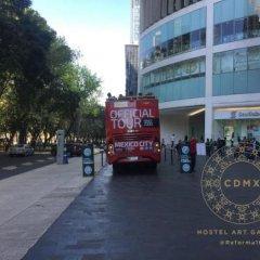 Отель CDMX Hostel Art Gallery Мексика, Мехико - отзывы, цены и фото номеров - забронировать отель CDMX Hostel Art Gallery онлайн городской автобус