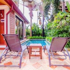 Отель Serene Boutique Garden Resorts балкон