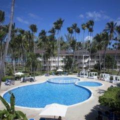 Отель Vista Sol Punta Cana Beach Resort & Spa - All Inclusive Доминикана, Пунта Кана - 1 отзыв об отеле, цены и фото номеров - забронировать отель Vista Sol Punta Cana Beach Resort & Spa - All Inclusive онлайн бассейн фото 2