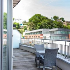 Отель Jala Бельгия, Льеж - отзывы, цены и фото номеров - забронировать отель Jala онлайн балкон