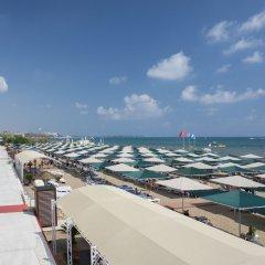 Miramare Beach Hotel Турция, Сиде - 1 отзыв об отеле, цены и фото номеров - забронировать отель Miramare Beach Hotel онлайн пляж фото 2