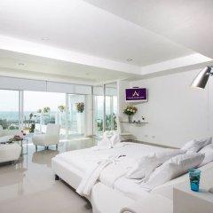 Отель Villa 7th Heaven Beach Front На Чом Тхиан комната для гостей фото 2