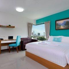 Отель SiRi Ratchada Bangkok Таиланд, Бангкок - отзывы, цены и фото номеров - забронировать отель SiRi Ratchada Bangkok онлайн комната для гостей