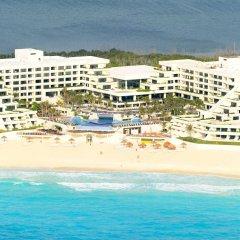 Отель Now Emerald Cancun (ex.Grand Oasis Sens) Мексика, Канкун - отзывы, цены и фото номеров - забронировать отель Now Emerald Cancun (ex.Grand Oasis Sens) онлайн пляж
