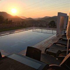 Villa Sunset Турция, Олудениз - отзывы, цены и фото номеров - забронировать отель Villa Sunset онлайн бассейн фото 3