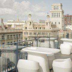 Отель Exe Plaza Catalunya балкон