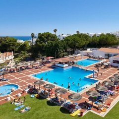 Отель Albufeira Jardim Apartments Португалия, Албуфейра - 1 отзыв об отеле, цены и фото номеров - забронировать отель Albufeira Jardim Apartments онлайн бассейн