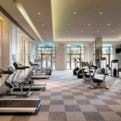 Отель Sofitel Shanghai Hongqiao фитнесс-зал