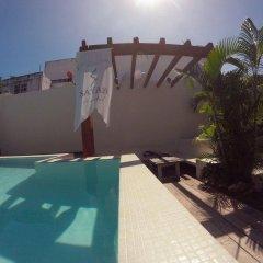 Отель Sayab Hostel Мексика, Плая-дель-Кармен - отзывы, цены и фото номеров - забронировать отель Sayab Hostel онлайн бассейн фото 2