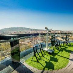 Отель Barcelo Raval Барселона балкон