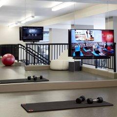 Отель Bethesda Marriott фитнесс-зал фото 2