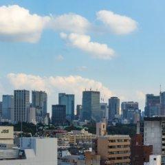 Отель Wing International Premium Tokyo Yotsuya Япония, Токио - отзывы, цены и фото номеров - забронировать отель Wing International Premium Tokyo Yotsuya онлайн балкон