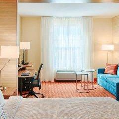 Отель Fairfield Inn & Suites by Marriott Columbus Dublin комната для гостей фото 4
