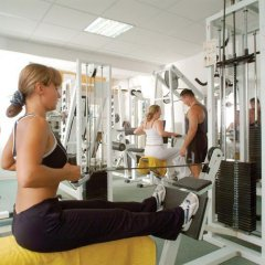 Park Beach Hotel in Limassol, Cyprus from 91$, photos, reviews - zenhotels.com fitness facility