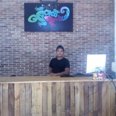 Отель Gecko Republic Jungle Hostel Таиланд, Остров Тау - отзывы, цены и фото номеров - забронировать отель Gecko Republic Jungle Hostel онлайн интерьер отеля фото 3