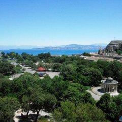 Отель Cavalieri Hotel Греция, Корфу - 1 отзыв об отеле, цены и фото номеров - забронировать отель Cavalieri Hotel онлайн пляж