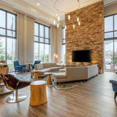Отель Cambria Hotel Akron - Canton Airport США, Юнионтаун - отзывы, цены и фото номеров - забронировать отель Cambria Hotel Akron - Canton Airport онлайн комната для гостей фото 2