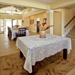 Отель Azure Cove, Silver Sands. Jamaica Villas 5BR питание